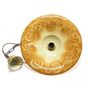 lampada sospensione spirali, ceiling lamp with spirals