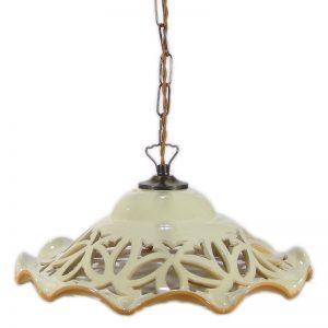 lampada sospensione intaglio, carved pendant lamp