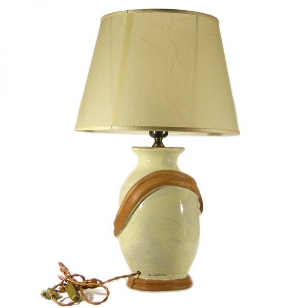 lampada ceramiche sarteano, sarteano ceramics lamp