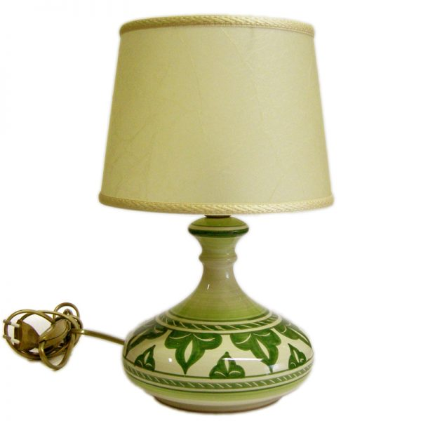 lampada da comodino in ceramica, bedside lamp in ceramic