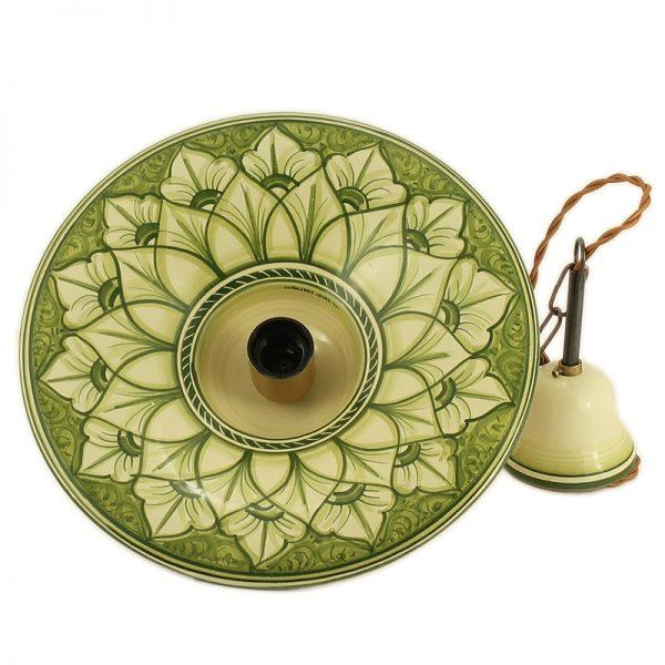 lampadario fatto a mano in toscana, pendant lamp handmade in tuscany