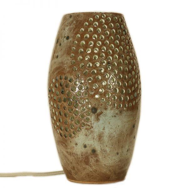 base lampada artistica ceramica, artistic table lamp in ceramic