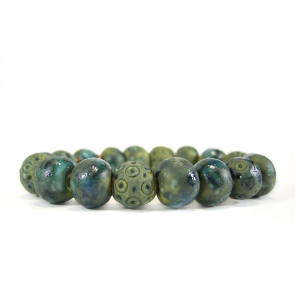 bracciale ceramica handmade in tuscany bracelet in pottery