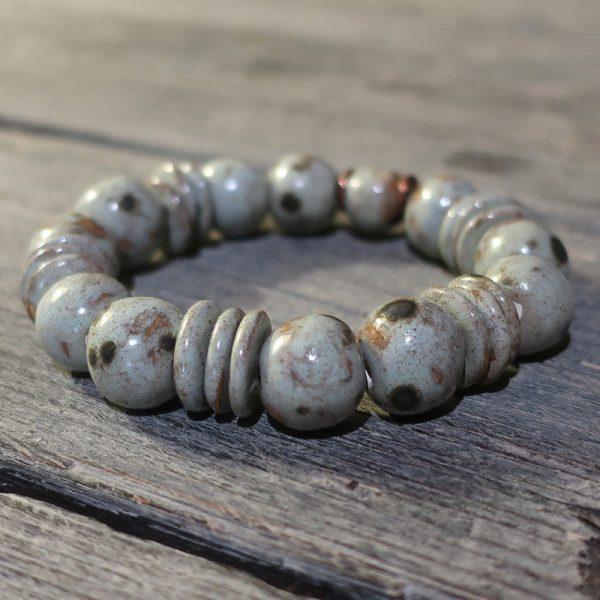 bracciale in ceramica made in tuscany ceramic bracelet