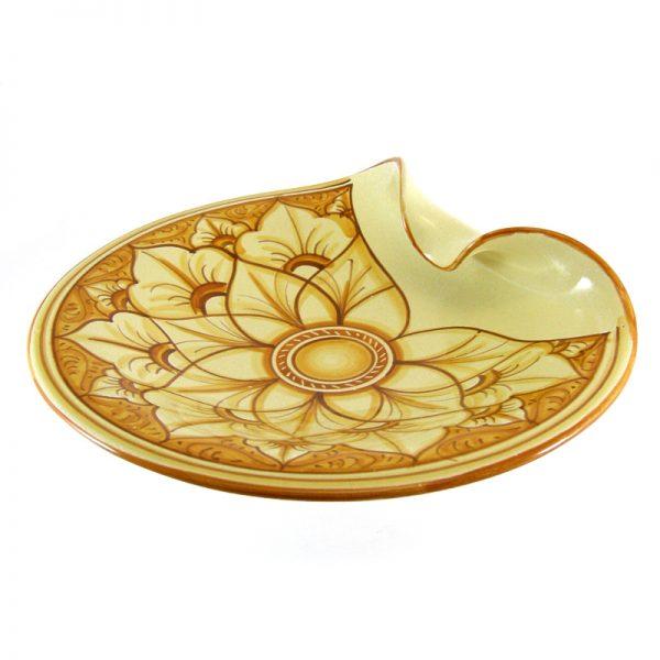 centrotavola ceramica toscana, tuscany centrepiece in pottery