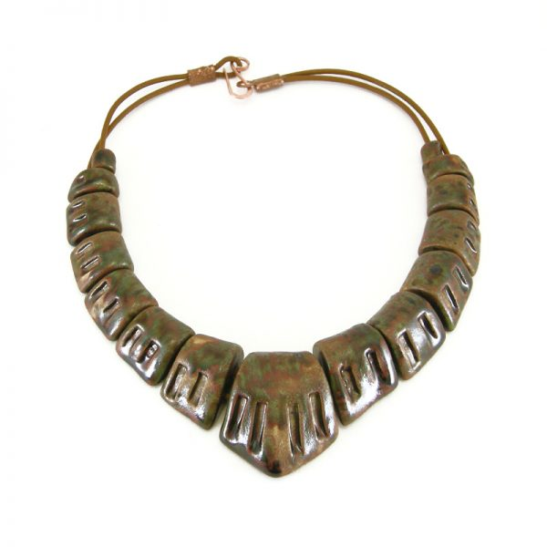 collana artigianato toscano, handcrafted in Tuscany necklace