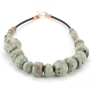 collana ceramiche il volo, necklace by il volo ceramics