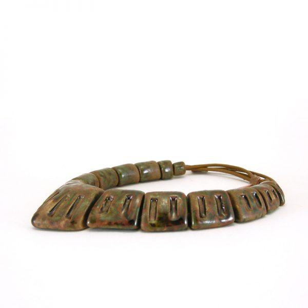 collana fabrizio rocchi ceramic jewels necklace