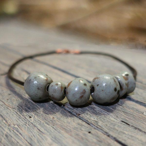 collana gioielli ceramica artigianato toscana, necklace ceramic jewelry made in tuscany