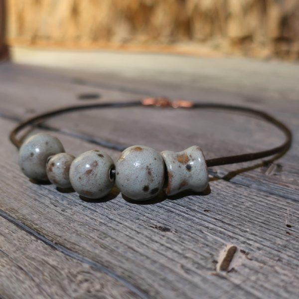 collana gioiello ceramica pezzo unico, necklace ceramic jewels
