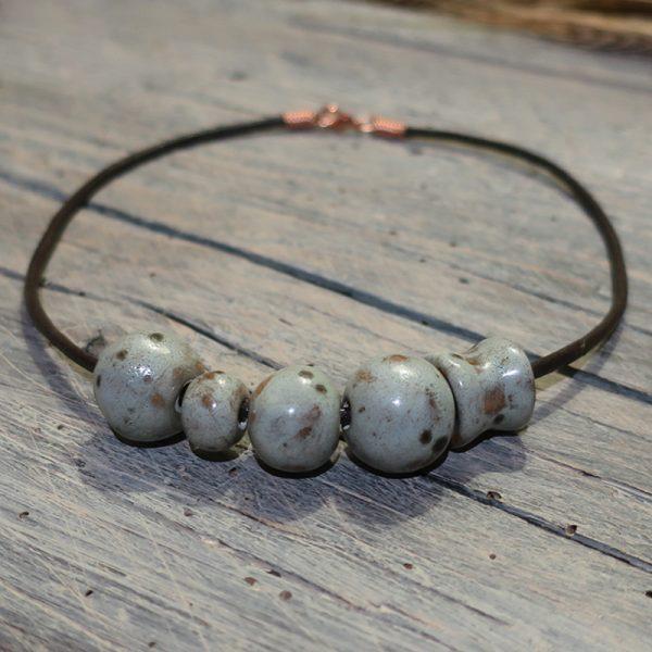 collana girocollo gioiello artigianato ceramica made in italy handcrafted ceramic necklace