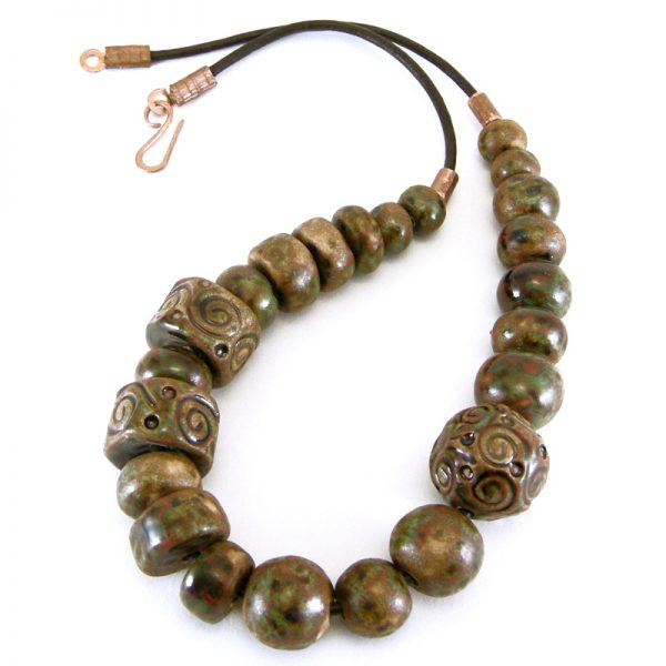 collana in ceramica fabrizio rocchi ceramic necklace