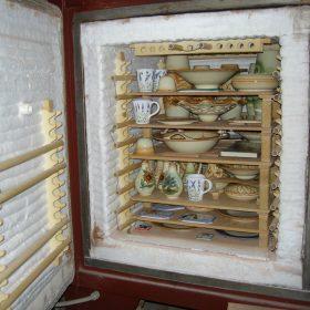 cottura ceramica, pottery second firing