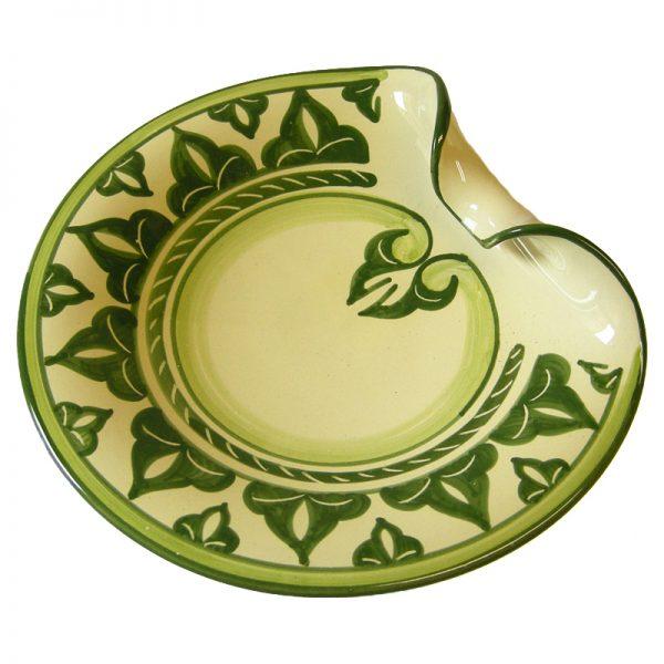 piatto ceramica toscana, tuscany ceramic plate