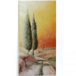 dipinto ad olio su tela fabrizio rocchi, oil painting on canvas by fabrizio rocchi