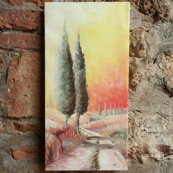 dipinto moderno olio su tela sarteano, modern painting oil on canvas sarteano