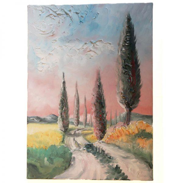dipinto olio su tela di fabrizio rocchi, oil painting on canvas by fabrizio rocchi