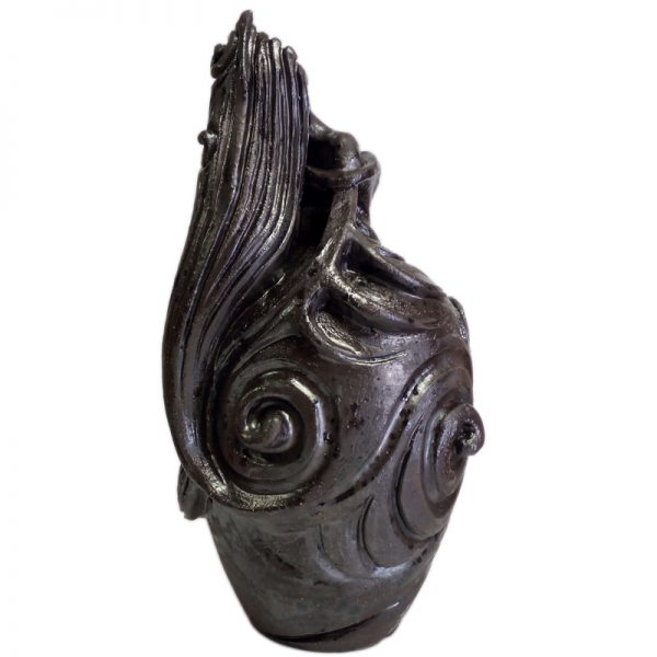 donna arte ceramica toscana, woman tuscany ceramic art