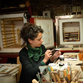 laboratorio artigianato sarteano, handicraft workshop