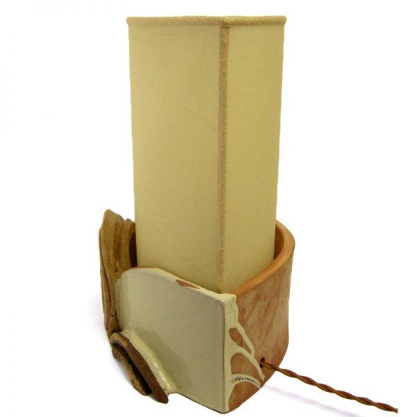 lampada artigianato pezzo unico, handmade table lamp
