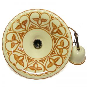 lampadario ceramica, pendant lamp in pottery