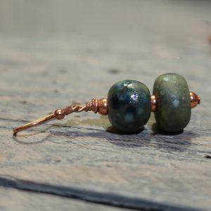 orecchini arte ceramica, ceramic art earrings