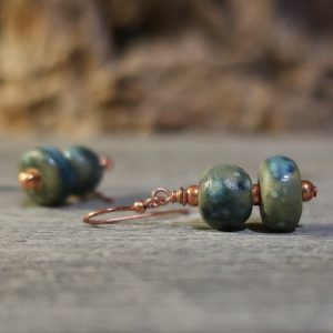 orecchini artigianato toscano, handmade in tuscany earrings