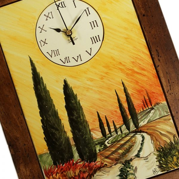 orologio toscana arte povera, tuscany wall clock