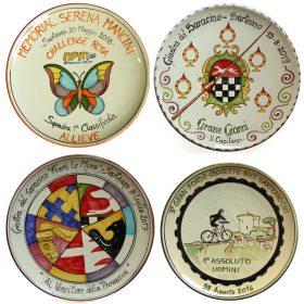piatti in ceramica premi e riconoscimenti, ceramic plate for prizes and awards