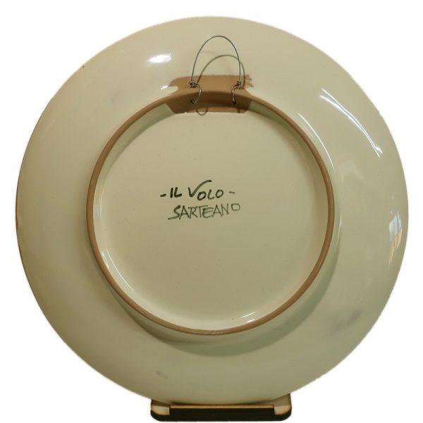 piatto ceramica, ceramic plate