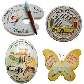 premi in ceramica per eventi e manifestazioni, ceramic prizes and awards for events