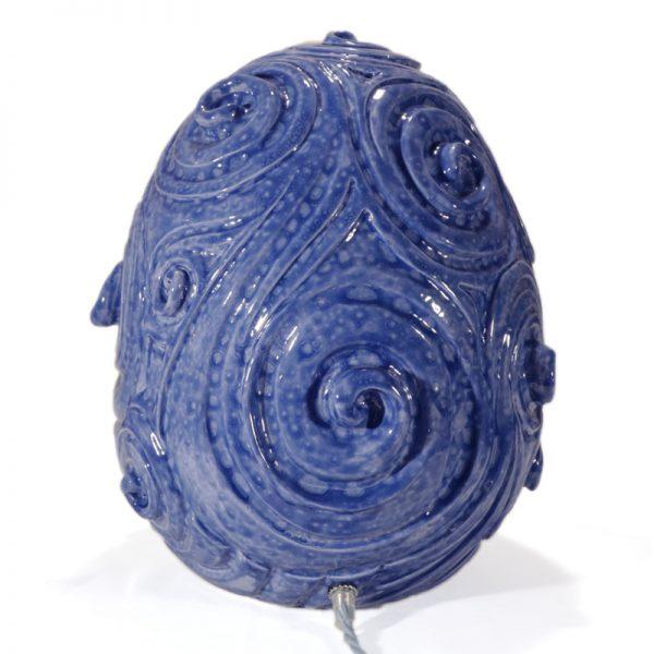 presepio ceramica artistica lampada, artistic ceramic crib table lamp