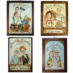 regalo 50 anni di matrimonio nozze d'oro, gift for 50 years of marriage