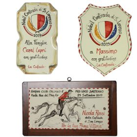 targhe in ceramica per riconoscimenti, awards in ceramic