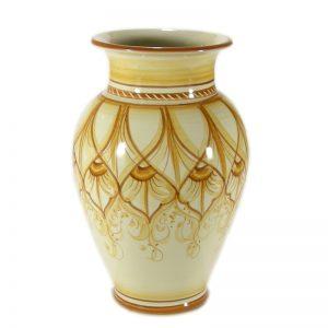 vaso artigianale in ceramica, handcrafted ceramic vase