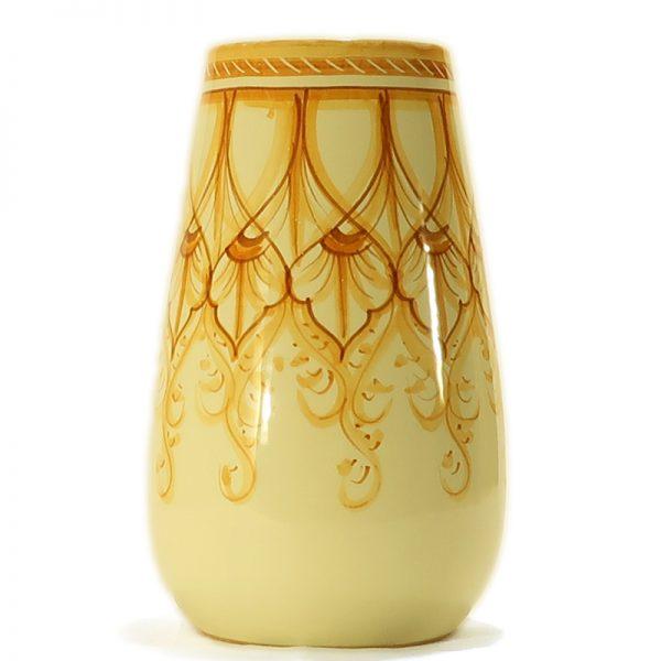 vaso in ceramica artigianato toscana, vase in ceramic handcrafted in tuscany
